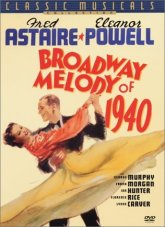 Broadway Melody of 1940 DVD cover