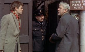 Mike Morgan and Alec Guinness