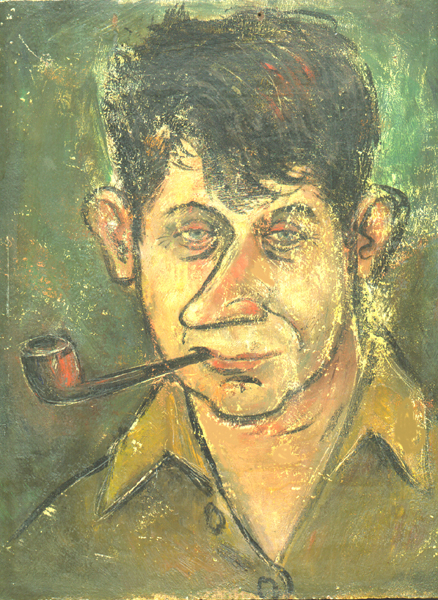 Reg Massie self portrait, 1945