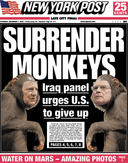 Surrender monkeys