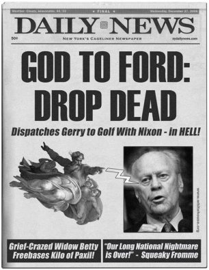"""God to Ford: Drop Dead"""