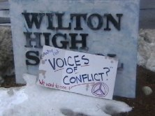 "Wilton High School - ""Voices In Conflict"""