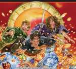"""Harry Potter and the Deathly Hallows"": cover of the UK children's edition"