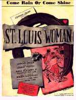 """St. Louis Woman"" sheet music"