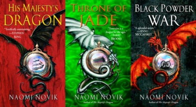Temeraire book covers