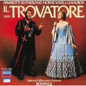 Cover of Il Trovatore album