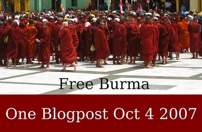 Blog for Burma Day