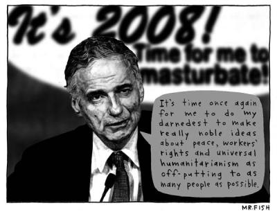 Ralph Nader vs. the world